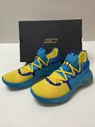 """Under Armour Curry 6 Pe """"family Business"""" All Star Windbreaker Blue Mens Size 10"""