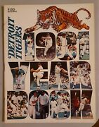 Detroit Tigers Mlb Baseball Official 1981 Yearbook Sparky Anderson Jack Morris