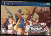 Blazblue Central Fiction Limited Edition Ps4 Playstation 4 , Rare , New ,🔥
