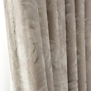 Pastoral Dark Flower Curtain Shad Chenille Curtain For Living Room Bedroom Study