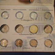 Uncirculated 2015 Presidential Dollar Set. Missing Three From The Commemorative