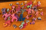 Lot Of My Little Pony Toy Figures Plus Balloon House And Accessories