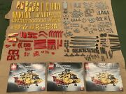 Lego Technic Helicopter 9396 With Lego + Power Functions Motor Set 8293