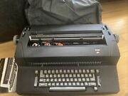 Rare Ibm Selectric Typewriter Model Xyd With Instructions And Dust Cover Spares