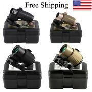3x Magnifier G43 G33 Airsoft Sight Mount With Switch Side Holographic Collimator