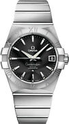 Brand New Omega Constellation Automatic Black Dial Menand039s Watch 12310382101001