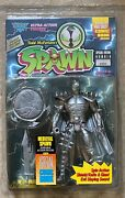 Spawn Medieval Figure And Special Edition 4258 Comic Book Mcfarlane Misp 1995