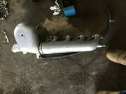 Rt. Side Exhaust For A Boat 460 Ford Aluminium Bellows