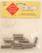 Aristo-craft 20199 Stainless Steel Rail Joiners 10 Packs Of 12
