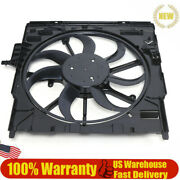 For Bmw 4door E70 X5 2007-10 Electric Cooling Fan Assembly 3000 Cfm/17427598740