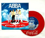 Abba Slipping Through My Fingers Japan-only Coca-cola Promo Picture 7ep Record