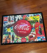 Buffalo Games Coca-cola Pause And Refresh Finish Framed 1000 Piece Jigsaw Puzzle
