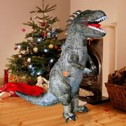 Inflatable Dinosaur Costume Blow Up Fancy Dress Inflatable Cosplay Costumes E