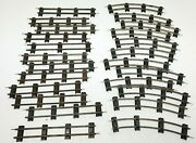 American Flyer S Gauge Train Track 24 Pieces Makes Oval 12 Straight 12 Curved
