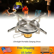 1-2x 3500w Portable Gas Stove Outdoor Stove Mini Camping Cooking Gas Burner A7t3