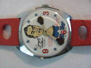 George C Wallace Fighting Lil [little] Judgemanual Wind Rare Mens Watch