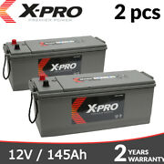 Lorry Truck Battery 627 12v 145ah Commercial Battery X-pro 64589 Tractor Boat X2
