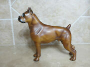 Vintage Breyer Wood Grain Woody Boxer Dog Super Cool Animal Puppy Collectible