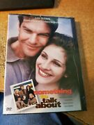 Something To Talk About Dvd, 1999 Brand New Sealed Julia Roberts Dennis Quaid
