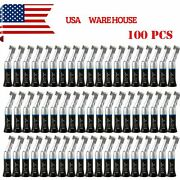 100 Nsk Style Dental Low Slow Speed Handpiece Contra Angle Latch Black Usps Xq1a