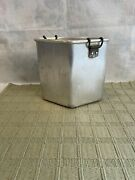 Chambers Stove Trio Deep Well Pot Thermowell Wear-ever Aluminum Parts Only One
