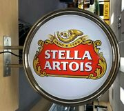 Stella Artois Pub Bar Double Sided Wall Light Sign Local Pick Up Only
