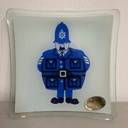 Chance Glass • Sights Of Londonpoliceman Dish Kenneth Townsend Made In England