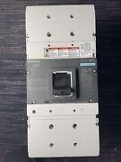 Siemens Nmg Nmx3b800 800 Amp 3 Phase Breaker. Pulled Out Of A Working Panel.