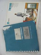 Tektronix Pg 506 Instruction Manual W/ 11x17 Foldouts And Tm500 Booklet Nice