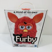 Hasbro Furby 2012 Orange/ Red With Box Rare Collectible Interactive Tested