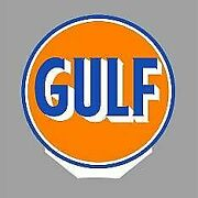 Miller Engineering 55025 O Gulf Double-sided Rotating Sign