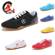 Arts Shoes Unisex Chinese Traditional Old Beijing Tai Chi Match Kung Fu Shoes