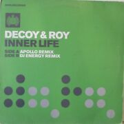 Decoy And Roy - Inner Life 12 Single Ps