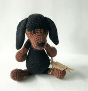 Dog Dachshund Copies Of Dog Stuffed Toys Gift For Babies Crochet Toys Cute