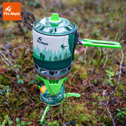 Camping Gas Burner Portable Outdoor Cooking System Summer Hiking Backpack Stove