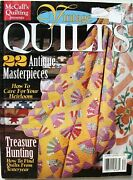 Mccalls Vintage Quilts Magazine Sewing Patterns Book Fall 1997 22 Designs