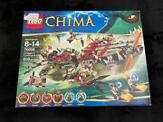Lego Legends Of Chima Craggerand039s Command Ship 70006 New And Sealed