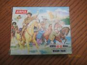 Airfix S15 Wagon Train Hooo Scale 46 Pcs In Rust Color Loose And Complete