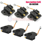 6pcs Ignition Coil For Johnson Evinrude 582508 18-5179 183-2508 Outboard Engine