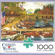 Charles Wysocki Lost In The Woodies / 1000 Pc Used / Excellent Condition Bonus