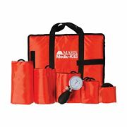 Mabis Dmi Healthcare Medic-kit5 Emt And Paramedic First Aid Kit With 5 Calibr...