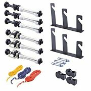 Neewer Photography 3 Roller Wall Mounting Manual Background Support System, Incl