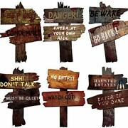 Dqfaqyy Halloween Decorations Yard Signs Stakes 6pcs 10 X 12 Outdoor Large ...
