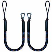 Bungee Boat Dock Line Mooring Rope With Stainless Steel Clip Accessories Boat...
