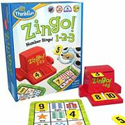 Think Fun Zingo 1-2-3 Number Bingo Game For Age 4 And Up - Award Winner And T...