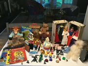 Vintage Toy Collectibles - 80+ Pieces, Barbie, Musical Circus Box, Comic Books+