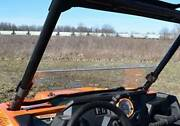 Rzr Clear Half Windshield 900 1000 Turbo Polaris Polycarbonate 1/4and039 Thick