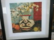 Very Rare Olivia Maxweller Print- Still Life With White Flowers 828/1000