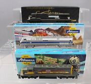 Athearn And Spectrum Ho Scale Diesels Scl, Amtrak And Norfolk Southern [3]/box