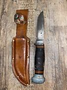 Antique Wwii Ww2 Pal Rh-50 Military Hand Made Trench Combat Fighting Knife 9.75
